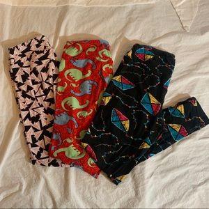 LulaRoe Fun Legging Bundle